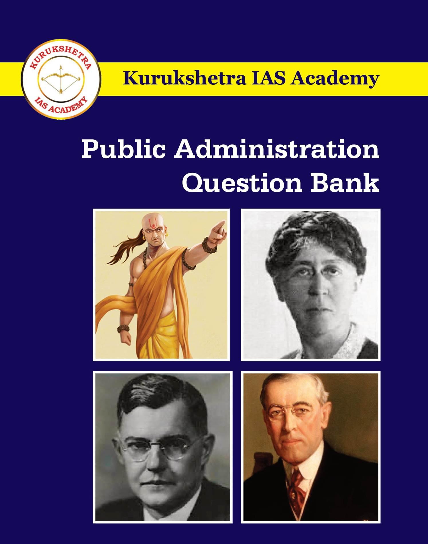 Public Administration Question Bank wrapper-1